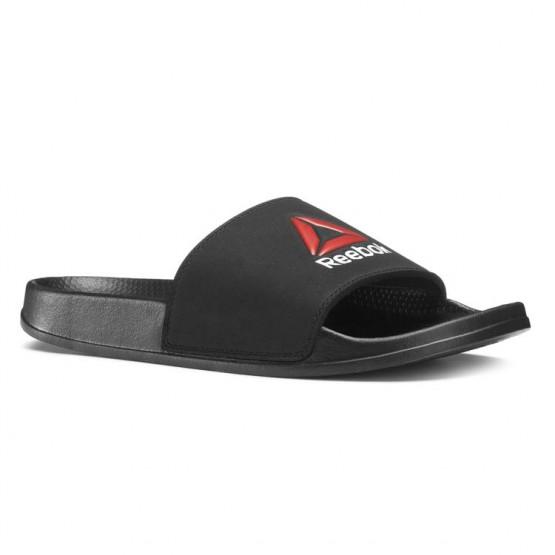 Reebok Original Slide Slippers Mens Black/Red/White CN7084