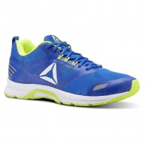 Reebok Ahary Runner Running Shoes Mens White/Blue/Yellow CN5337