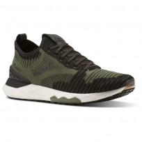 Reebok Floatride 6000 Lifestyle Shoes Mens Green/Black/White CN2231