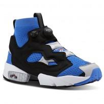Reebok Instapump Fury Shoes Mens Blue/Grey/Red CN5735