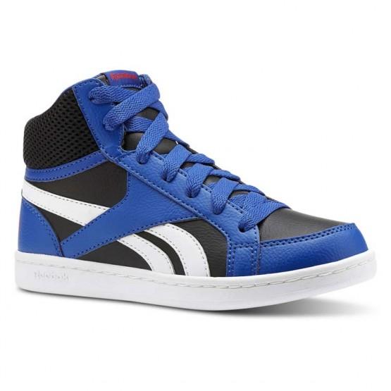 Zapatillas Reebok Royal Prime Niño Azul Real/Negras/Blancas/Rojas CN4756