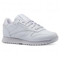 Reebok Classic Leather Schuhe Damen Grau CN5122