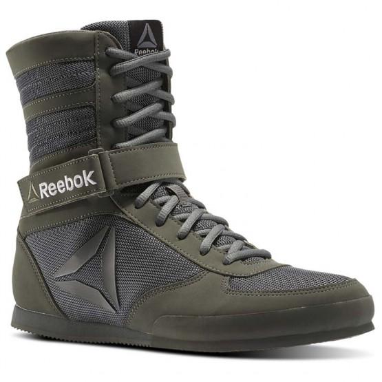 Reebok Boxing Tactical Shoes Mens Green/Grey/Black BS8266