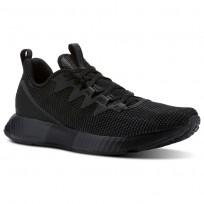 Reebok Fusion Flexweave Running Shoes Mens Black/Grey/White CN2856