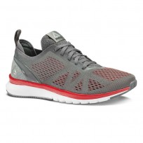 Reebok Print Smooth Running Shoes Mens Red/White BS8575