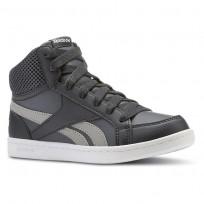 Reebok Royal Prime Shoes Boys Deep Grey/Dark Grey/White CN4757