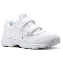 Reebok Walk Walking Shoes Womens White/Grey BS9531