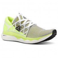 Reebok Floatride Run Running Shoes Mens White/Yellow/Black CN5236