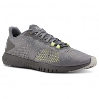 Training Shoes Reebok Flexagon Mens Grey/Lemon CN5192