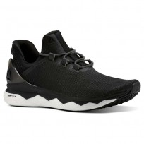 Reebok Floatride Run Smooth Running Shoes Mens Black/White/Grey CN4646