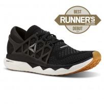Reebok Custom Floatride Run Running Shoes Womens Black/White CN7263