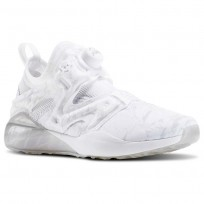 Reebok The Pump Izarre Studio Shoes Womens White/Grey/Grey AR3122