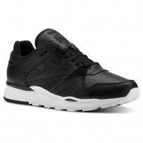 Reebok Classic Leather Shoes Mens Black/White CN3900