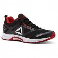 Reebok Ahary Runner Running Shoes Mens White/Black/Red CN5333