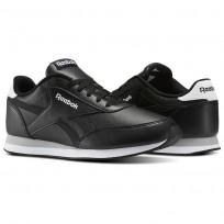 Zapatillas Reebok Royal Classic Jogger Hombre Negras/Blancas/Gris V70722