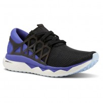 Reebok Floatride Run Running Shoes Womens Black/Purple/White/Blue CN5240