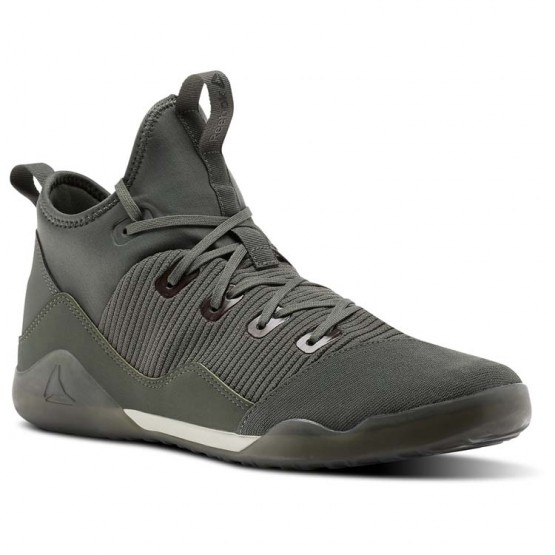 Reebok Combat Noble Tactical Shoes Mens Green/Grey BS6181