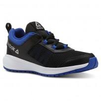 Reebok Road Supreme Running Shoes Boys Black/Blue/White CN4194