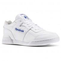 Reebok Workout Plus Schuhe Herren Weiß/Königsblau 2759