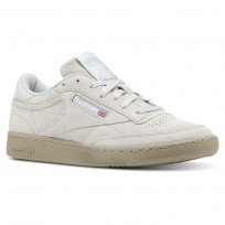 Reebok Club C 85 Shoes Mens Grey/White CN5782