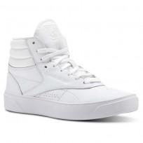 Zapatillas Reebok Freestyle Hi Mujer Blancas/Moradas CN3846