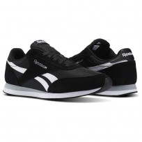 Shoes Reebok Royal Classic Jogger Mens Black/White/Grey V70710