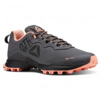 Reebok All Terrain Running Shoes Womens Grey/Pink/Black CN5245