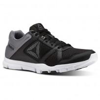 Reebok Yourflex Train 10 Training Shoes For Men Black/White CN4727