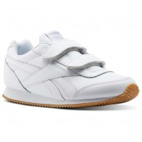 Reebok Royal Classic Jogger Shoes Kids White/Grey CN1410