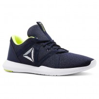 Training Shoes Reebok Reago Mens Navy/Yellow CN5131