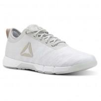 Reebok Speed Training Shoes Womens White/Grey CN4862