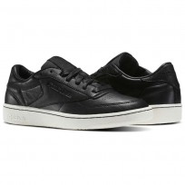 Reebok Club C 85 Shoes Mens Black BS6208