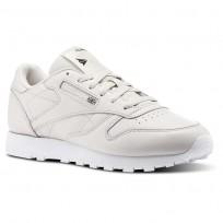 Zapatillas Reebok Classic Leather Mujer Blancas/Moradas/Blancas/Negras CN1477