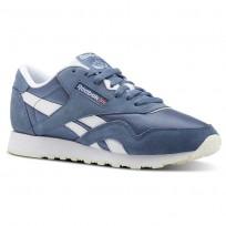 Reebok Classic Nylon Schuhe Damen Blau/Weiß CN4019