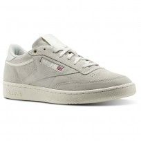 Reebok Club C 85 Shoes Mens Beige CM9296