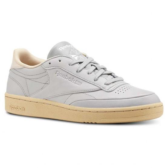 Zapatillas Reebok Club C 85 Mujer Gris/Blancas CN3030