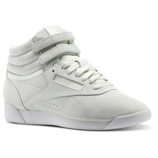 Reebok Freestyle Hi Schuhe Damen Blau/Weiß CN0604