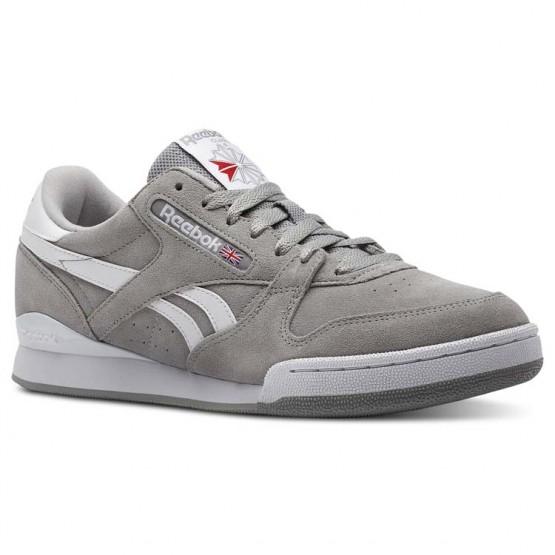 Reebok Phase 1 Pro Shoes Mens Grey/White CN4981