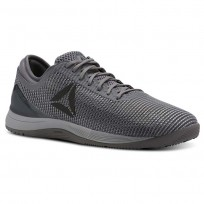 Reebok Crossfit Nano Shoes Mens Grey/Dark Silver CN2976