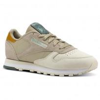 Reebok Classic Leather Schuhe Damen Khaki CN4024