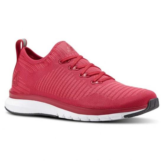 Reebok Print Smooth Running Shoes Womens Rose/White/Grey CN2896