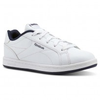 Reebok Royal Complete Shoes Kids White/Navy CN1719