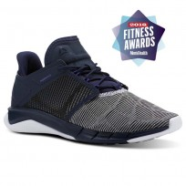 Reebok Fast Flexweave Running Shoes Womens Navy/Purple/White CN2536