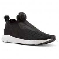 Reebok Pump Supreme Running Shoes Mens Black/Grey/White CN2940