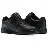 Reebok Workout Plus Schuhe Herren Schwarz/Grau 2760