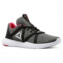 Reebok Reago Training Shoes Womens Black/Grey/White/Pink CN5190
