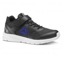 Reebok Rush Runner Running Shoes Boys Black/Blue CN7251