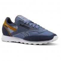 Reebok Classic 83 Shoes Mens Blue/Indigo/White/Brown CN4508