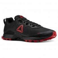Reebok All Terrain Running Shoes Mens Black/Red/Grey CN5243