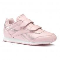 Reebok Royal Classic Jogger Shoes Girls Pink/White CN4809